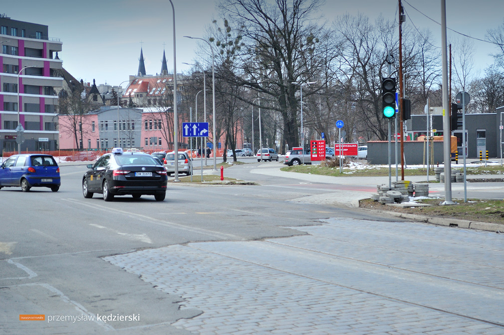 20.03.2018, Wrocław, ul. Dyrekcyjna.