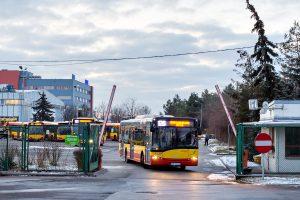 21.03.2018, zajezdnia ul. Obornicka. Solaris na linii 126. fot. Michał Kwietniak.