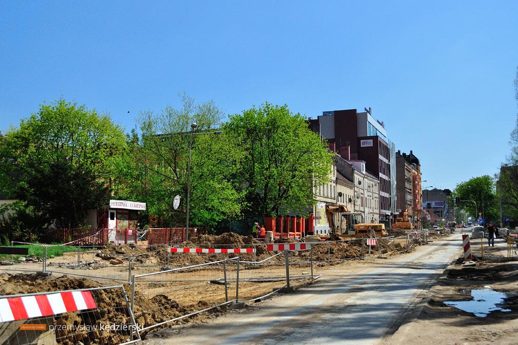 Budowa torowiska na ulicy Hubskiej [FOTO] [2]