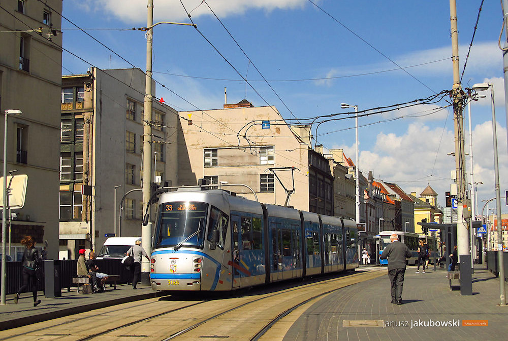Zmiany tras linii tramwajowych od 14 lipca