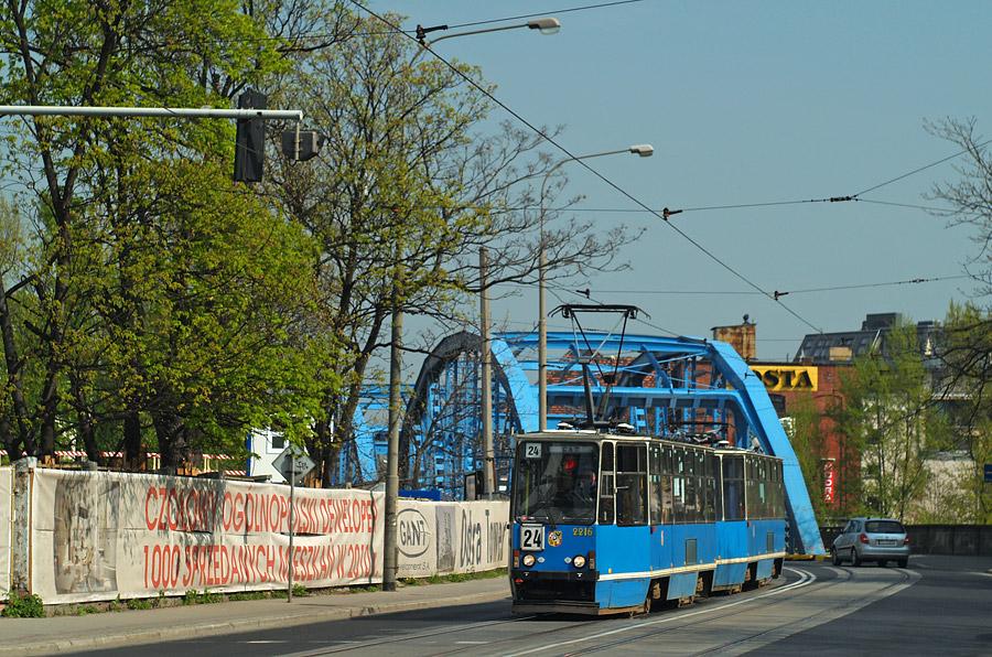Tramwaje wracają na Most Sikorskiego
