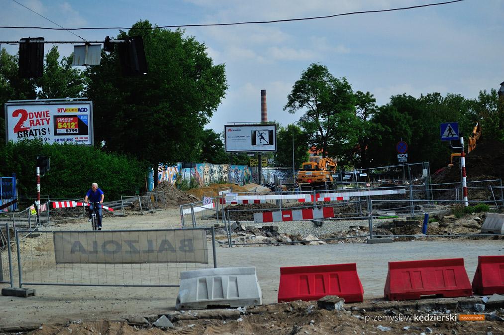 Budowa torowiska na ulicy Hubskiej [FOTO] [4]