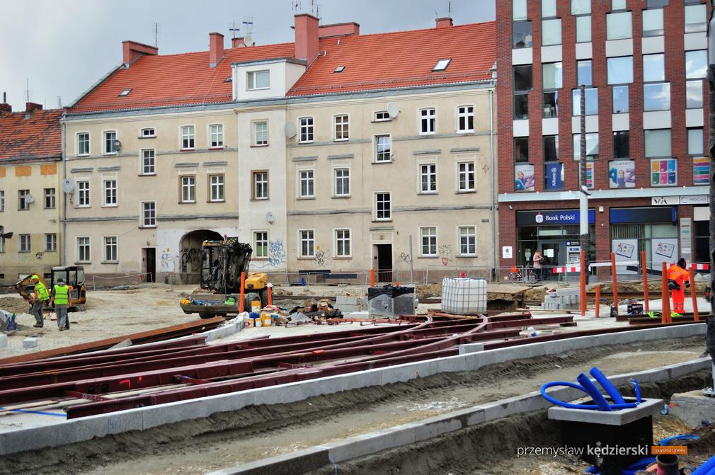 Budowa torowiska na ulicy Hubskiej [FOTO] [5]