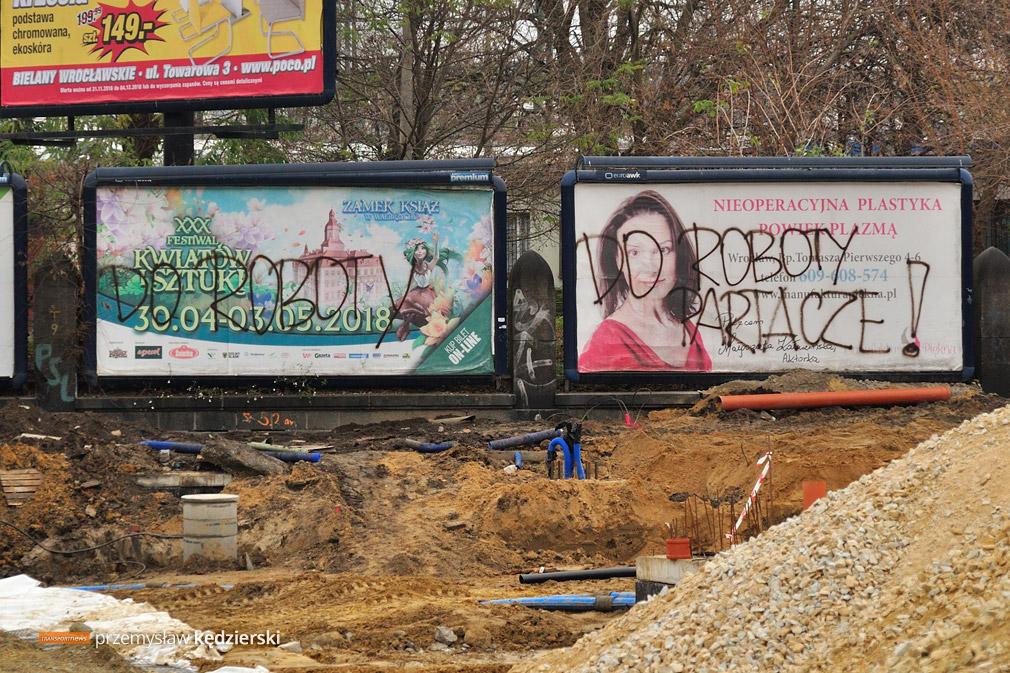 Budowa torowiska na ulicy Hubskiej [FOTO] [6]