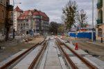 9.03.2019, Przy ulicy Bocznej betonowe płyty wróciły na swoje miejsce. fot. NEO[EZN]/fotopolska.eu CC/BY/SA.