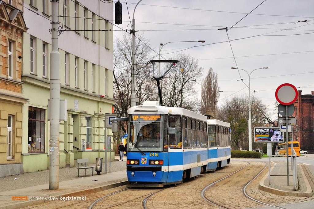Remont torowiska na Podwalu – zmiany tras linii tramwajowych