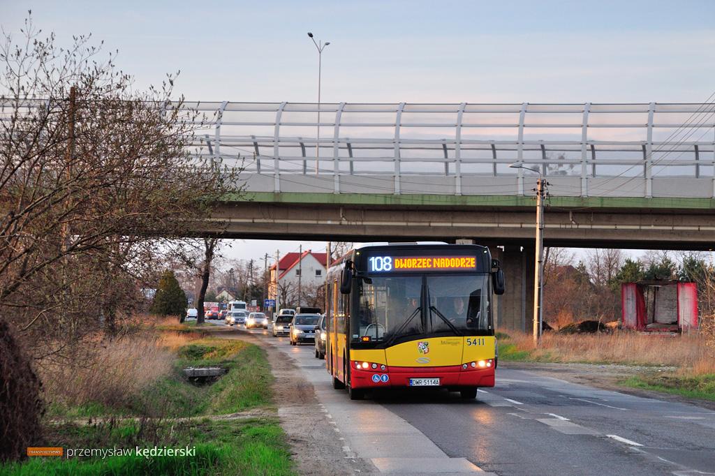 Przebudowa ulicy Pełczyńskiej – zmiany tras linii 105, 108, 111 i 246