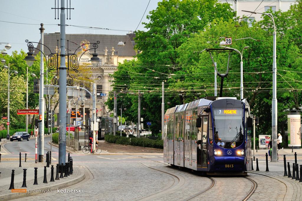 Częstsze kursy tramwajów… ale tylko wybranych linii
