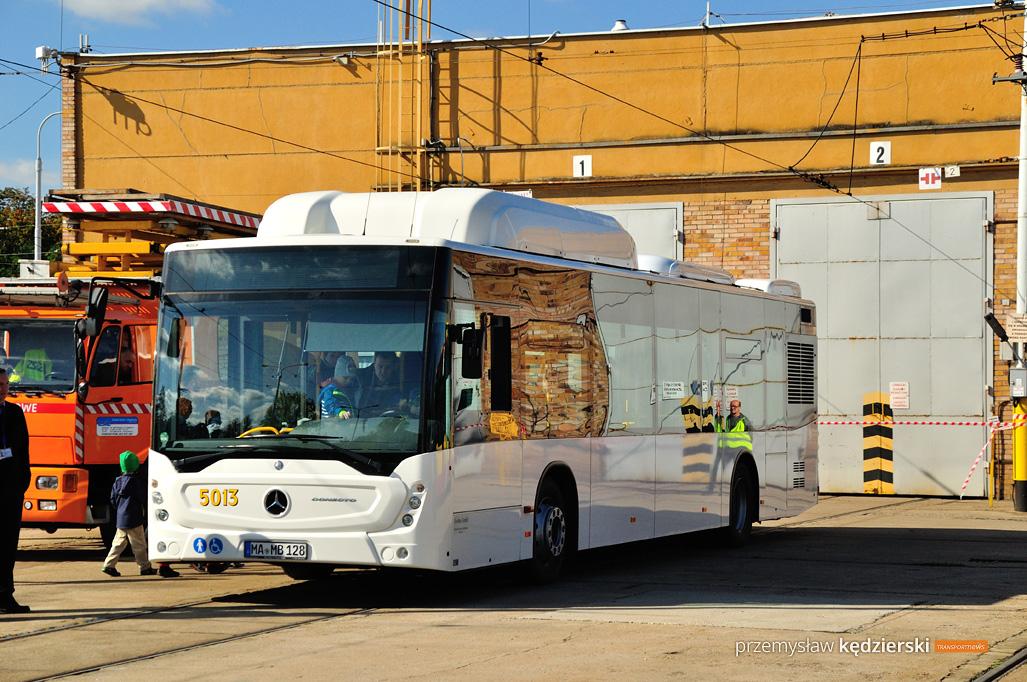 Testy autobusów i tramwaju w MPK Wrocław
