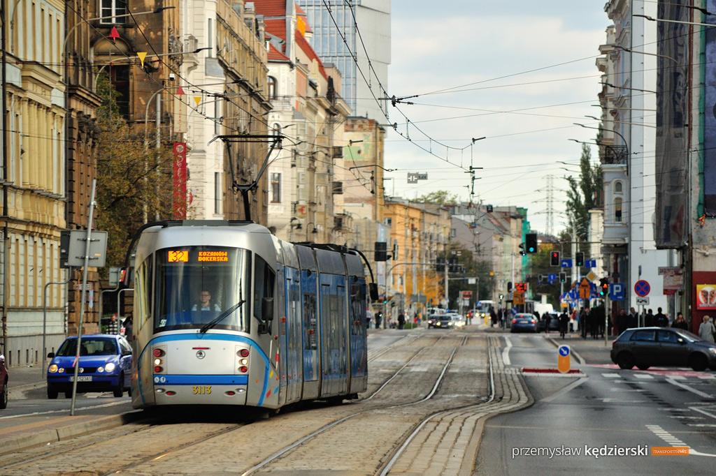 Wymiana zwrotnicy na ulicy Piłsudskiego – zmiany tras