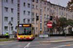 01.11.2019, Wrocław, ul. Grabiszyńska. Mercedes na linii 334.