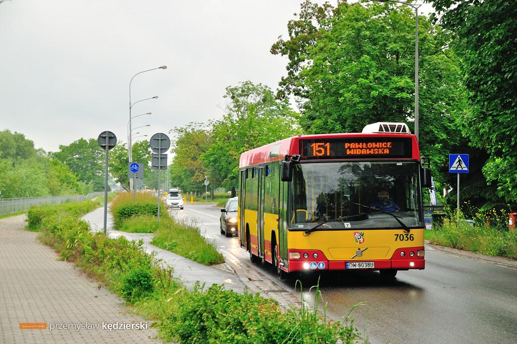 Volvo 7700 #7036