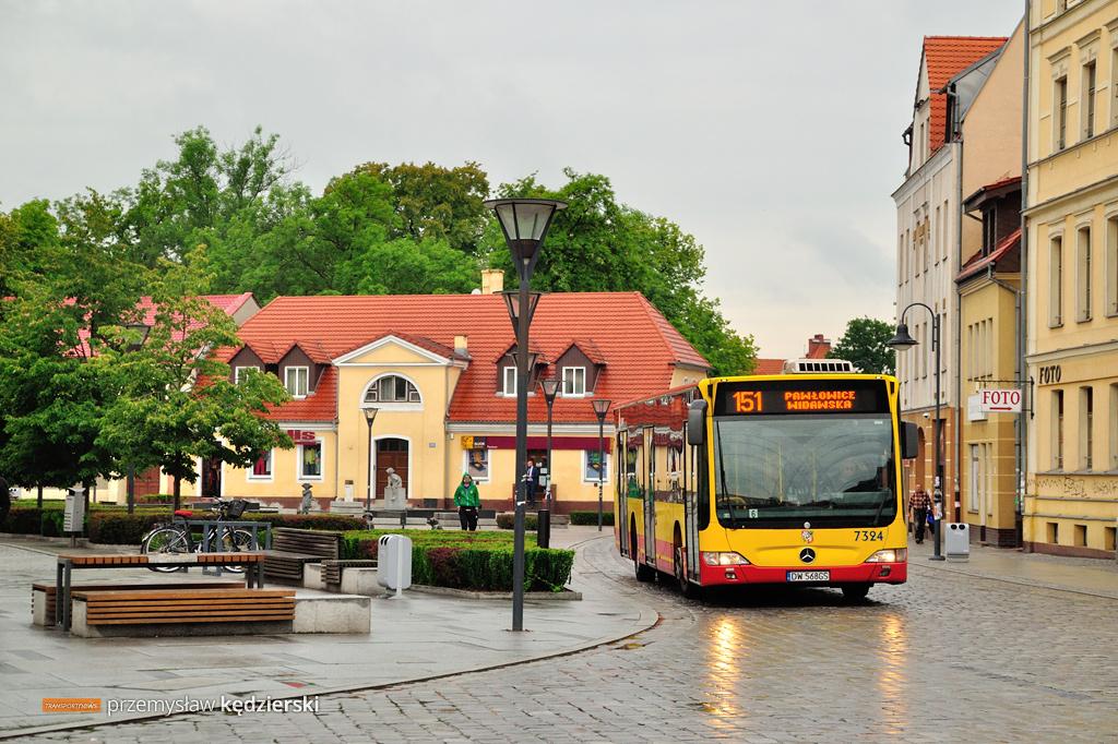 Remont nawierzchni na Psim Polu – zmiany tras linii autobusowych [AKTUALIZACJA]