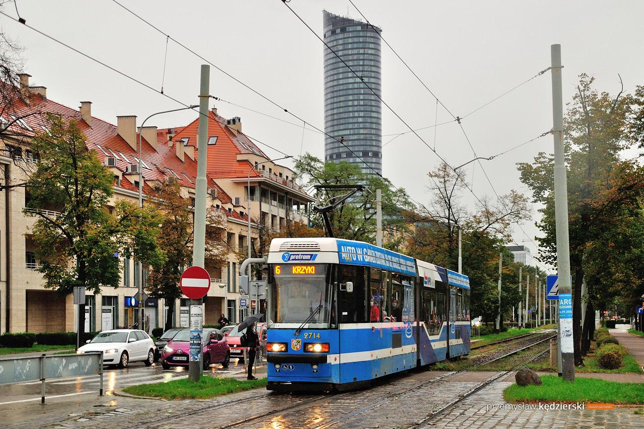 Weekendowa, kolejna zmiana tras tramwajów na ulicy Powstańców Śląskich